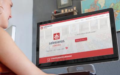 Nueva etapa en la página web de Salesianos Córdoba